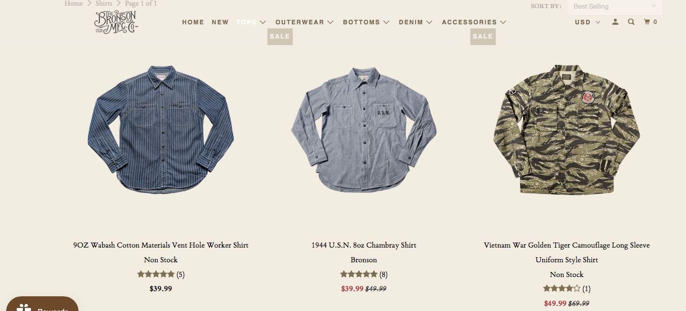 bronson - une marque workwear chinoise à petit prix