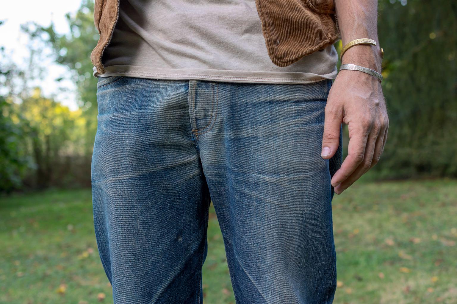 comment porter un jean coupe tapered - borali first sample denim