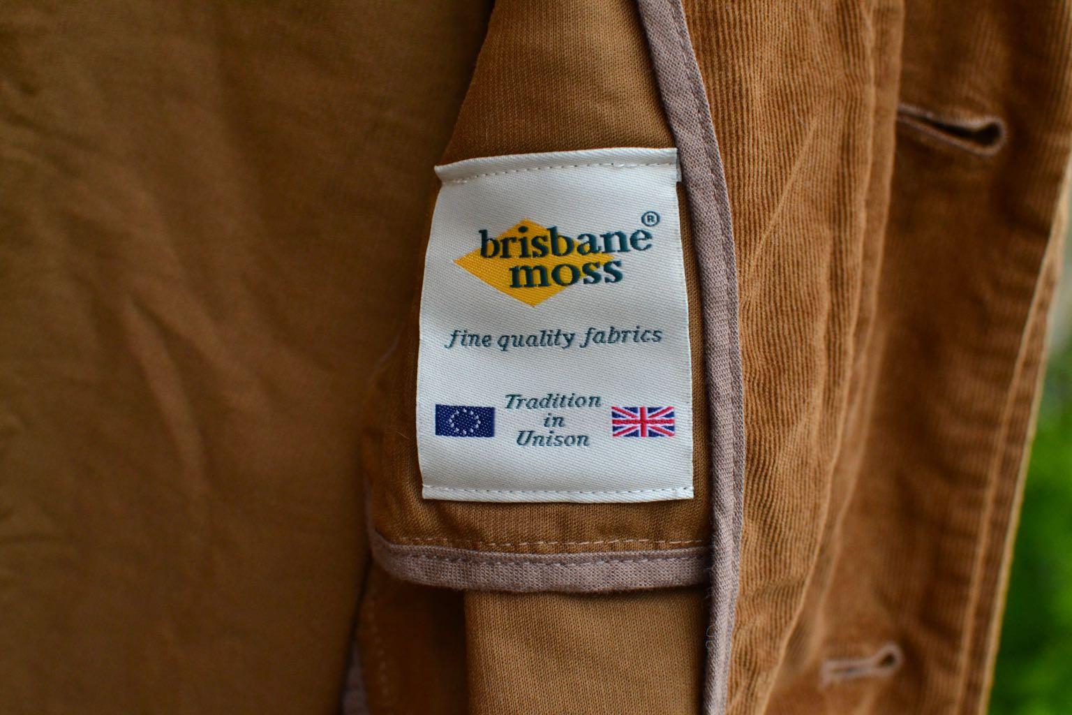Kestin-hare-Kenmore blazer & Iverness trouser in tobacco Brisbane Moss cord