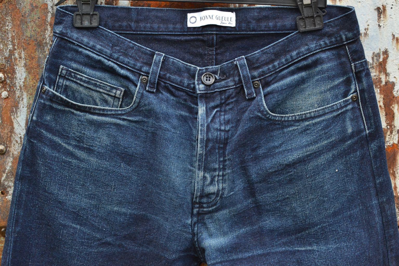 conseil délavage jean pantalon toile canevas bonnegueule en indigo