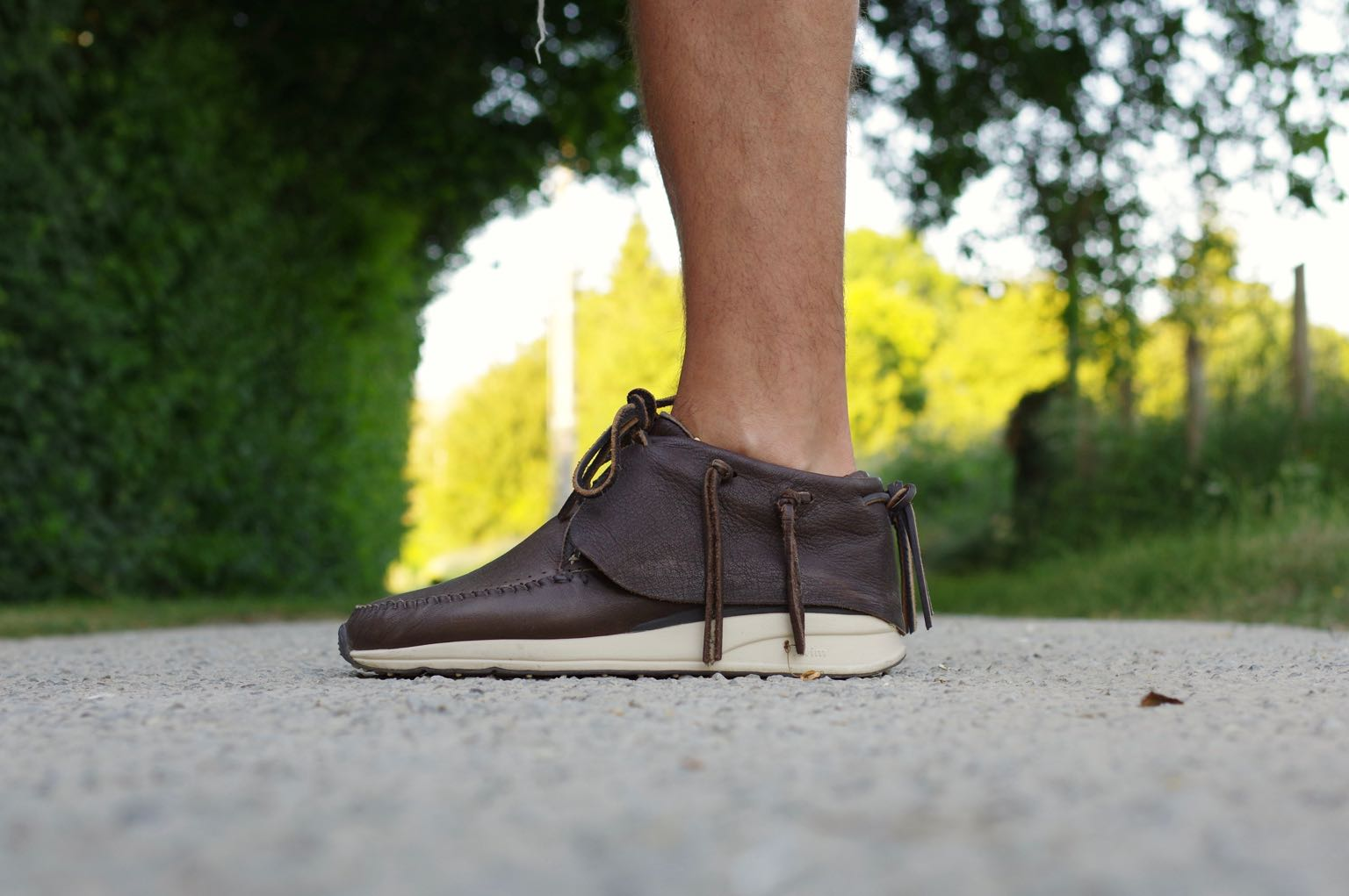 Visvim FBT shoes - sneakers inspiration ethnique amérindien