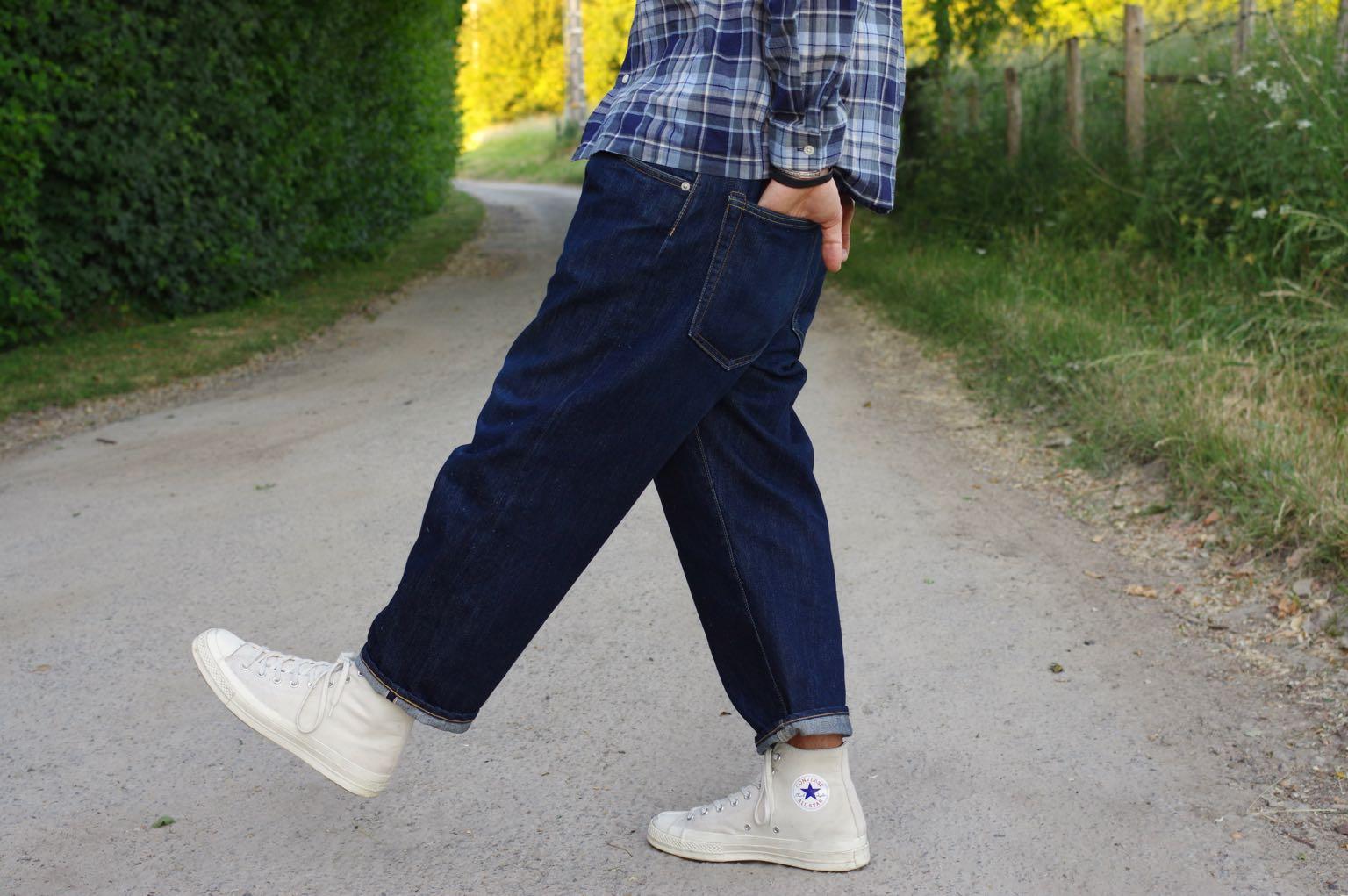 comment porter un jean size-up et des converse ct70 dans un look homme workwear