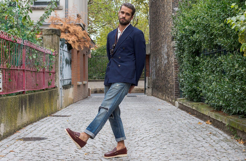 comment porter le blazer croisé style et conseil mode homme masculine