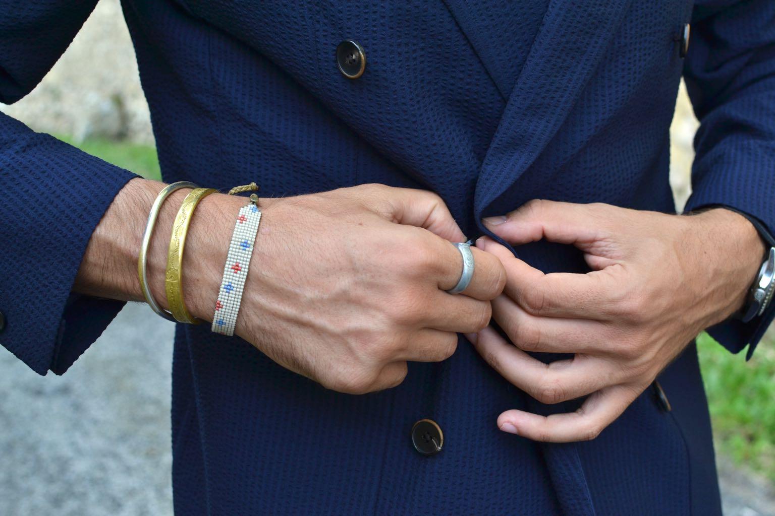 Bracelet en perle japonaise ayako by Boras - collab et pièce limitée
