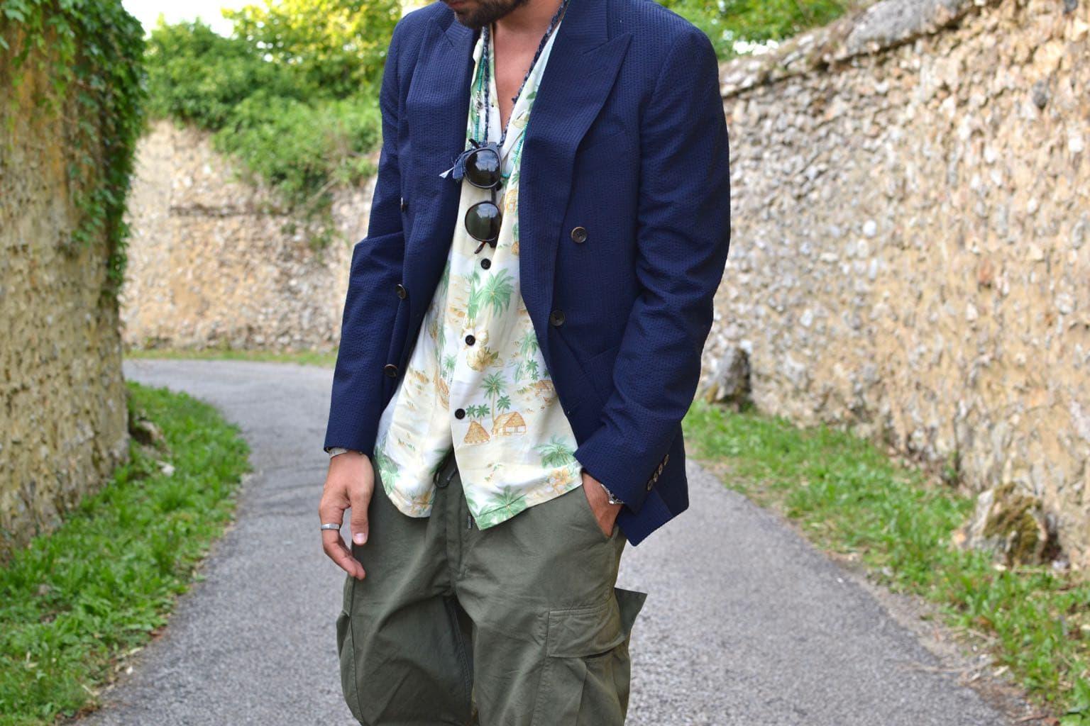 comment porter un blazer croisé bonne gueule dans un stule homme street heritage sprezzatura