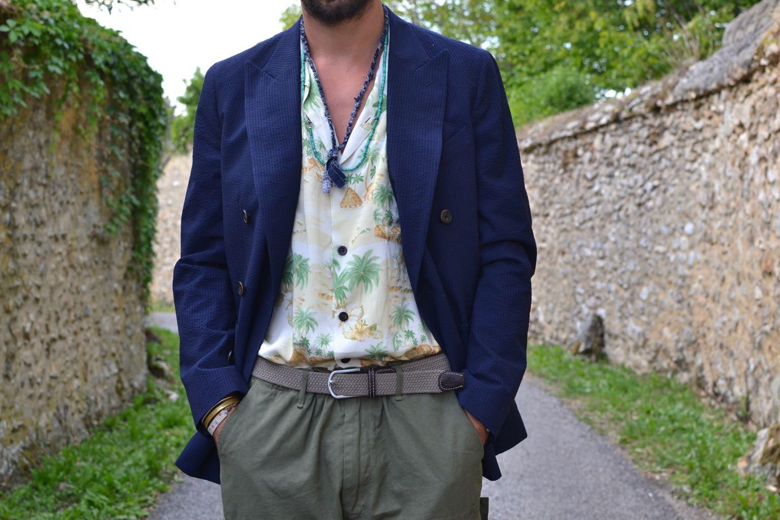 conseil mode style homme - porte une chemise dans le pantalon taille haute