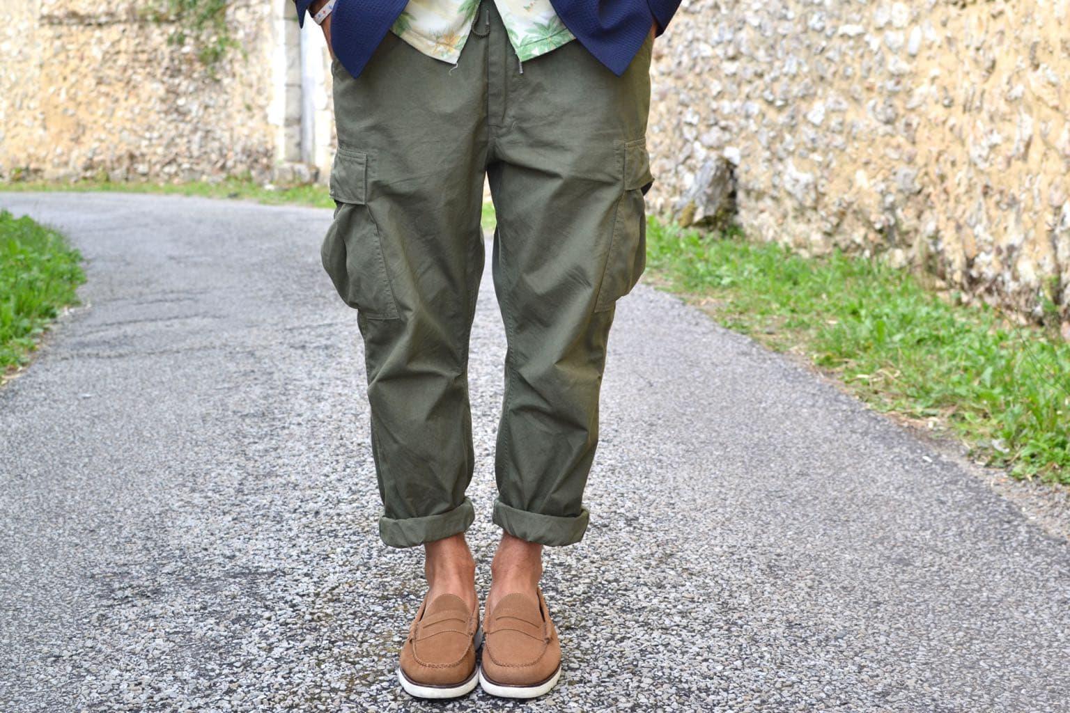 orslow easy pants special OD for kafka mercantile ) comment porter avec élégance cargo pantalon militaire