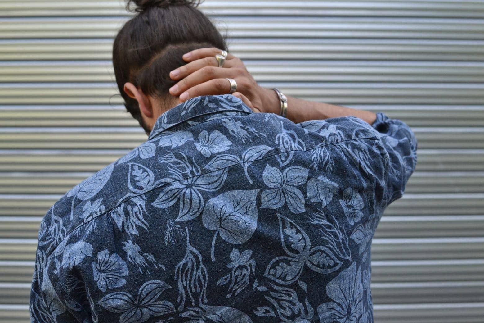 comment porter une chemise à motif ) conseil style pour homme