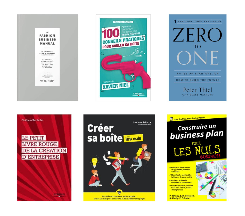 Conseils livres entrepreneuriat