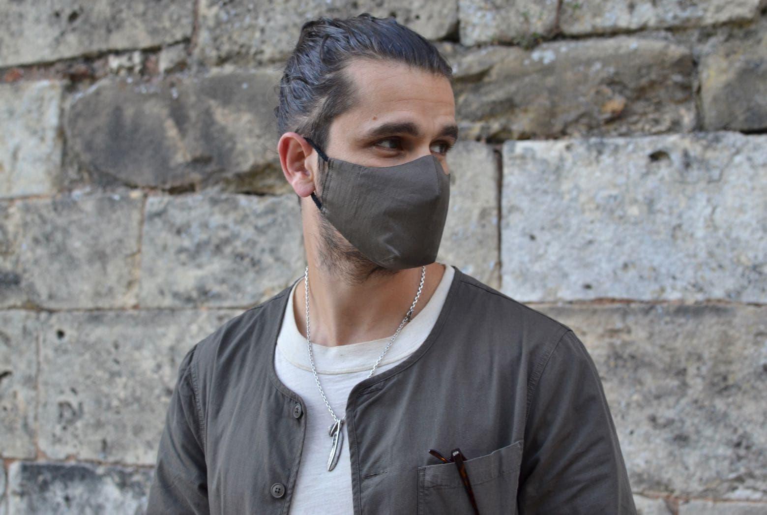 comment bien porté un masque style workwear homme conseil kestin neist shirt