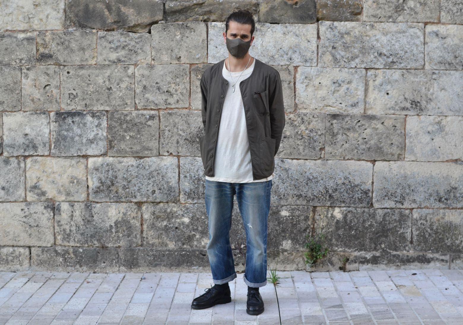 look style stret heritage workwear homme avec jean coupe droite et comment porter paraboot michael