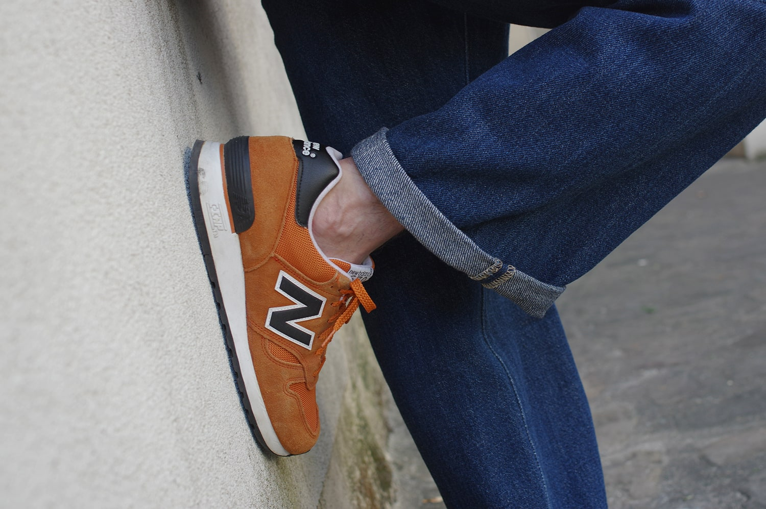 New balance 670 Made in UK -orange color