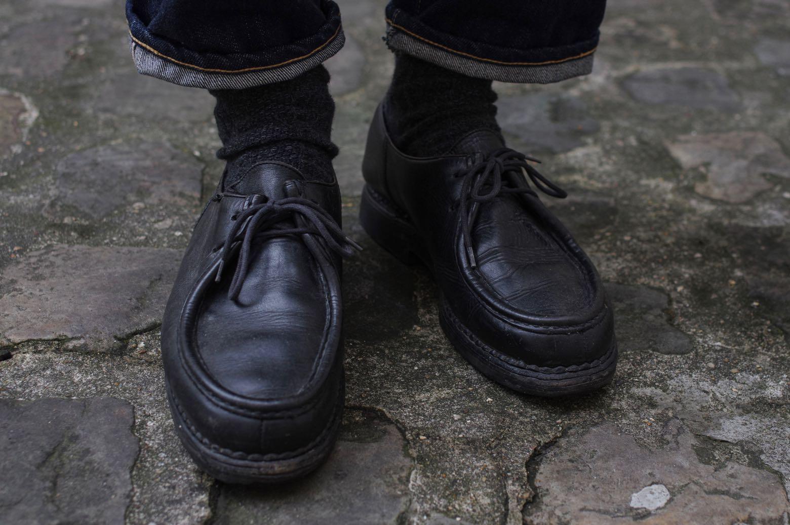 paraboot michael cuir noir - comment porter des paraboot style homme moderne