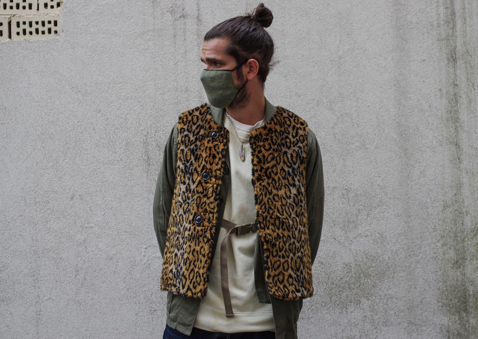 comment porté un imprimé léopard dans tenue style homme street heritage