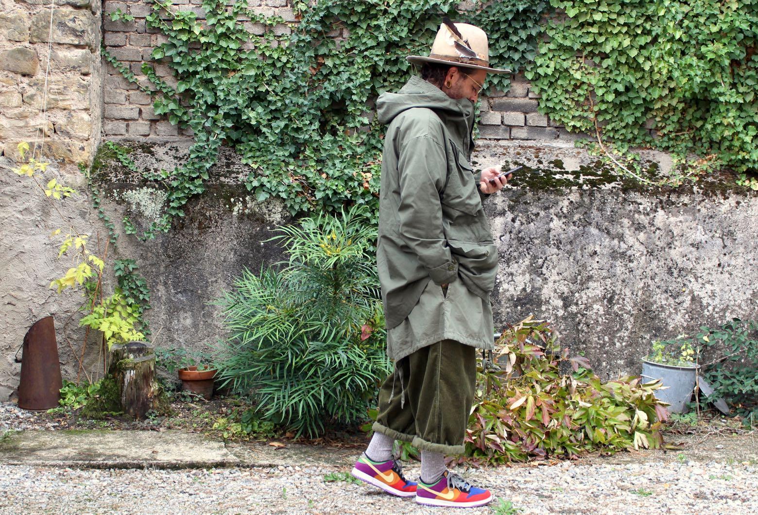 comment porter du vert khaki olive tenue homme