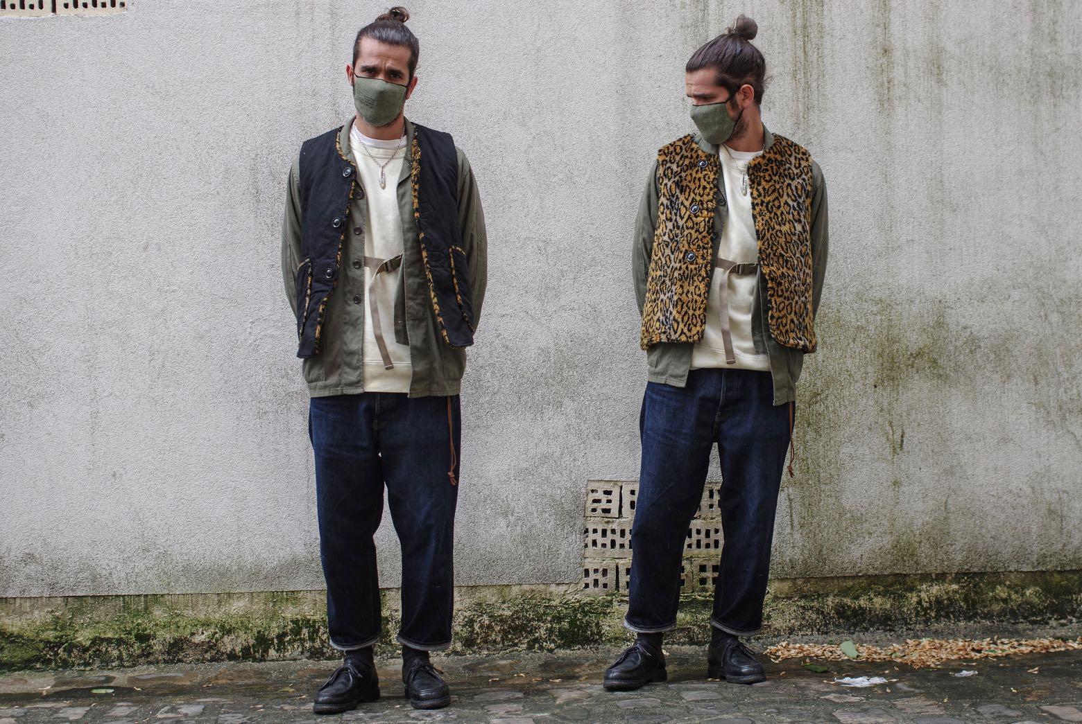 conseil style homme pour faire du layering dans une tenue workwear street heritage