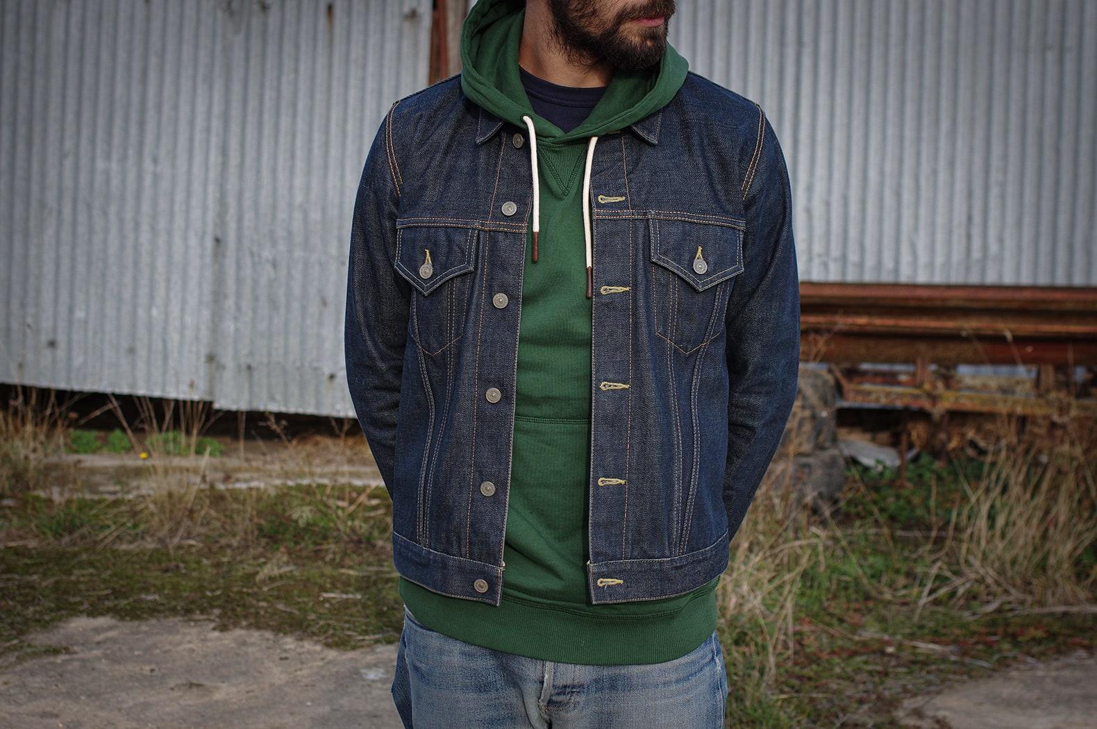 tenue homme veste jean - visvim 103 denim jacket