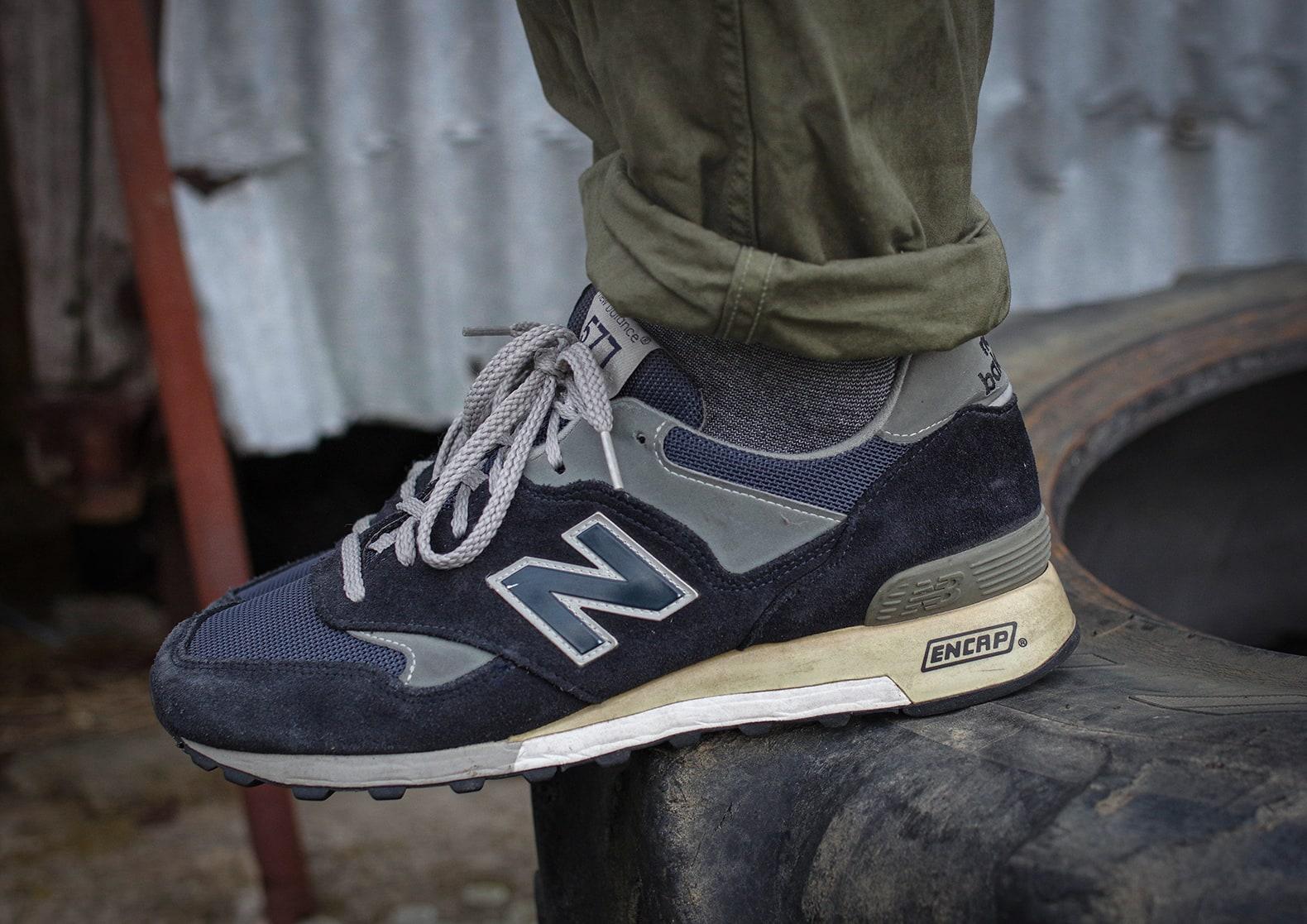 New Balance M 577NG Navy Grey og sneakers