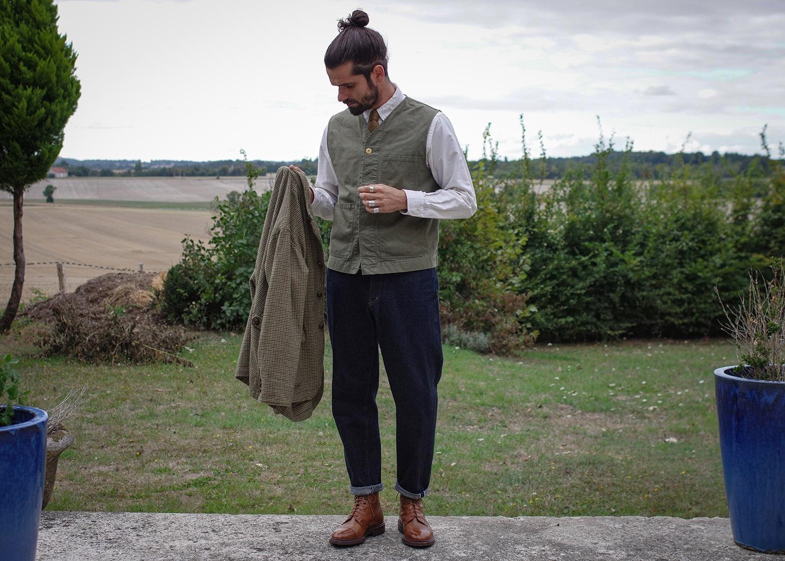 idée de tenue homme et conseil sur comment porter jean taille haute