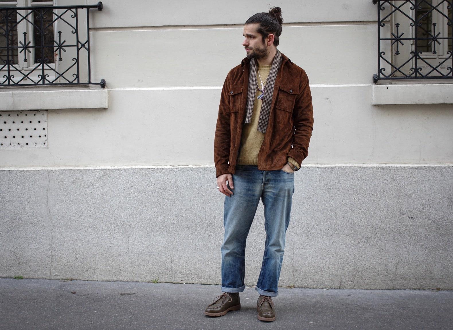 comment s'habiller en automne - idée tenue homme élégante workwear