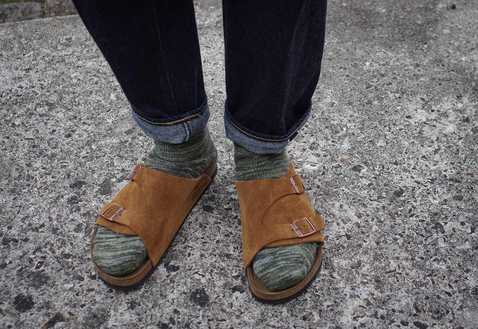 idée de tenues avec sandales birkenstock zurich brown marron fauve et chaussettes borse projects