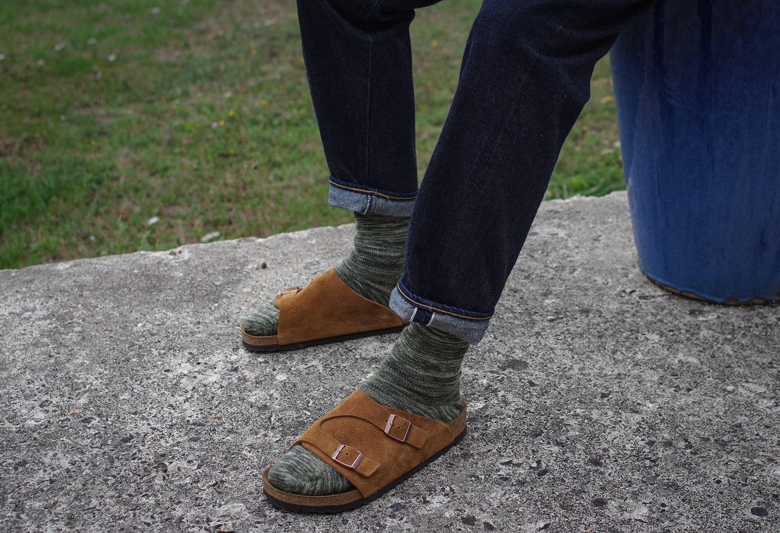 porter des chaussettes avec des birkenstock zurich mink