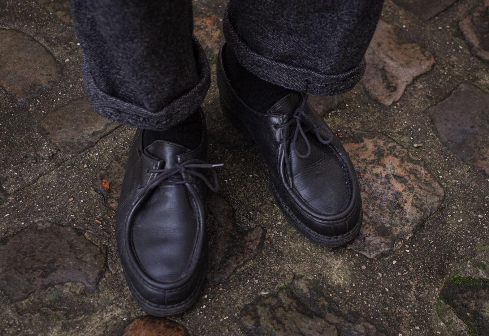 paraboot michale noire chaussures workwear