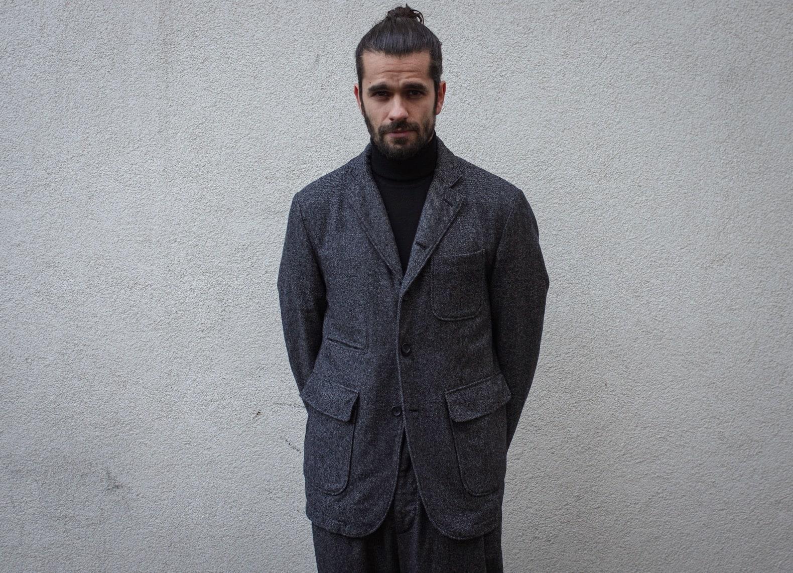 tenue homme costume workwear