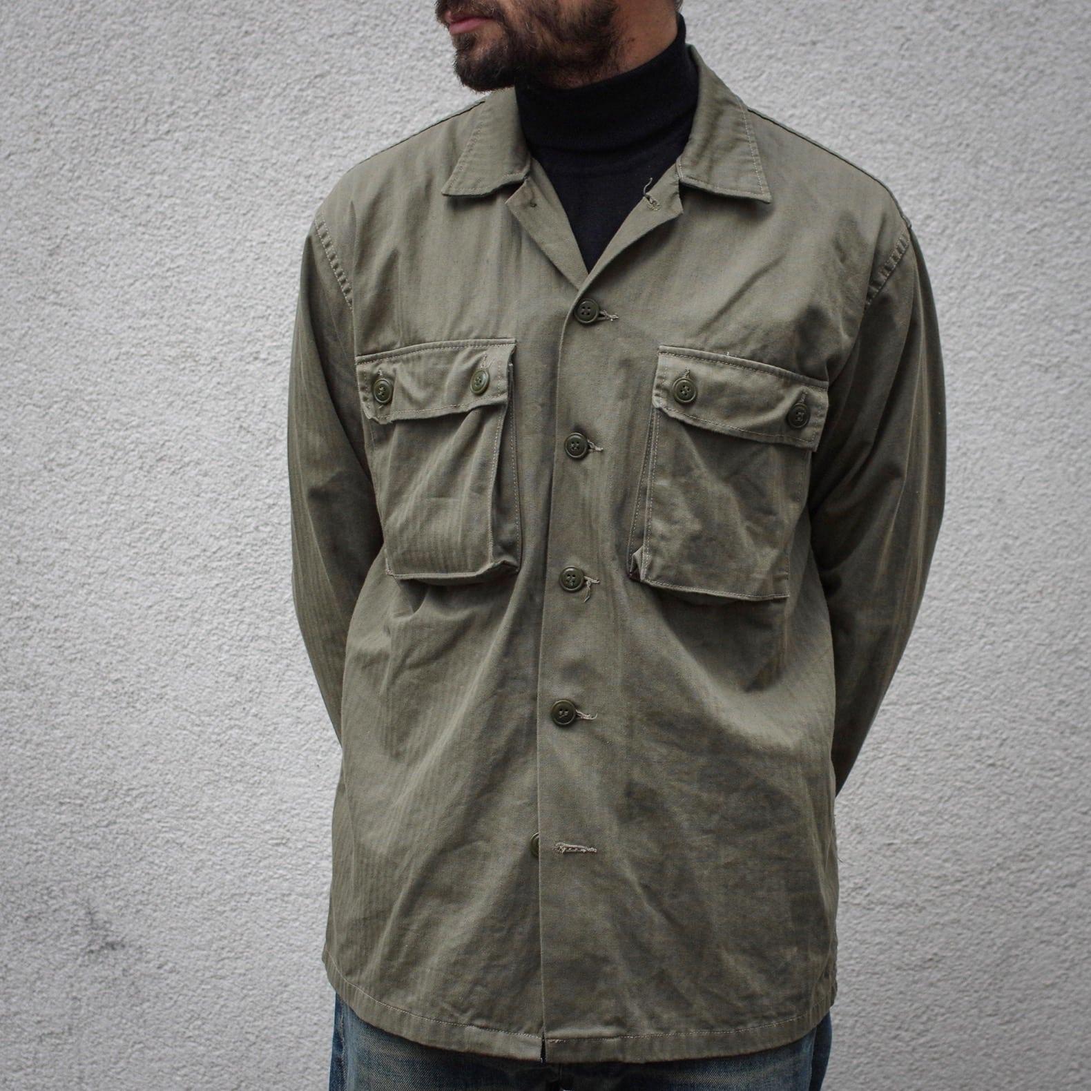 idée look style homme surchemise militaire arashi denim