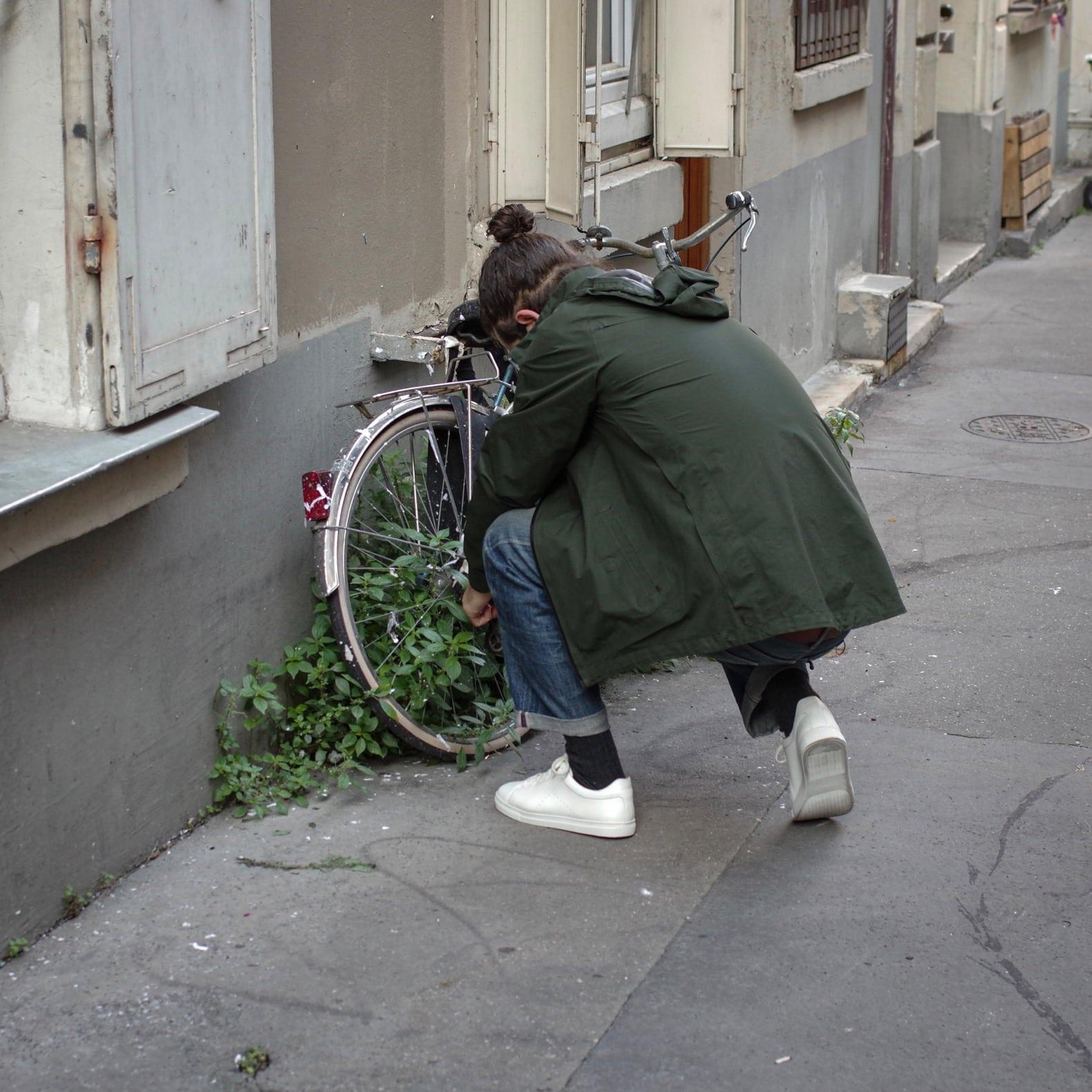 faire du vélo, c'est dur