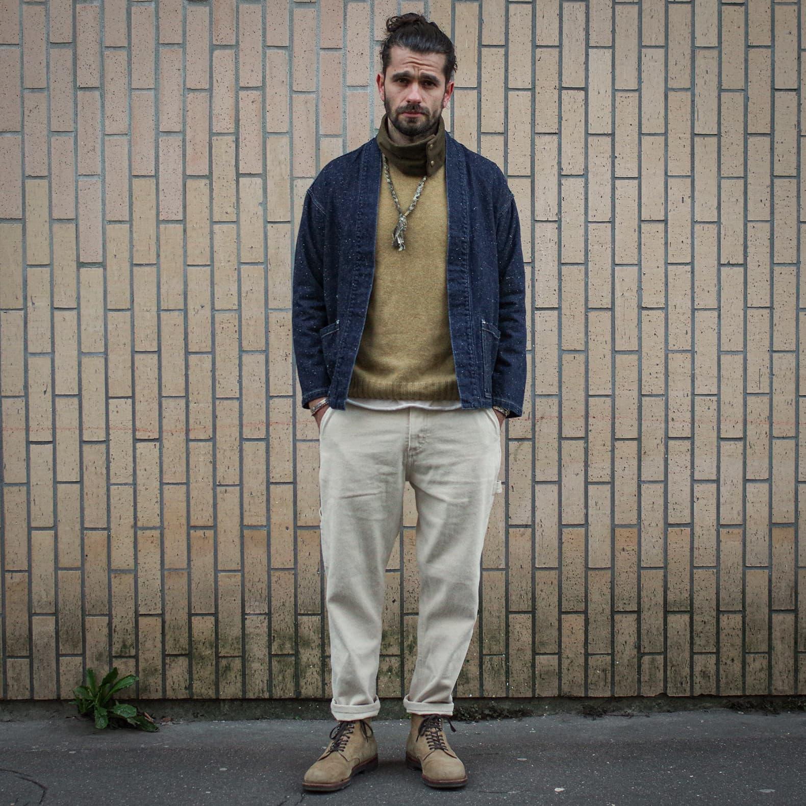 pantalon de peintre mode homme