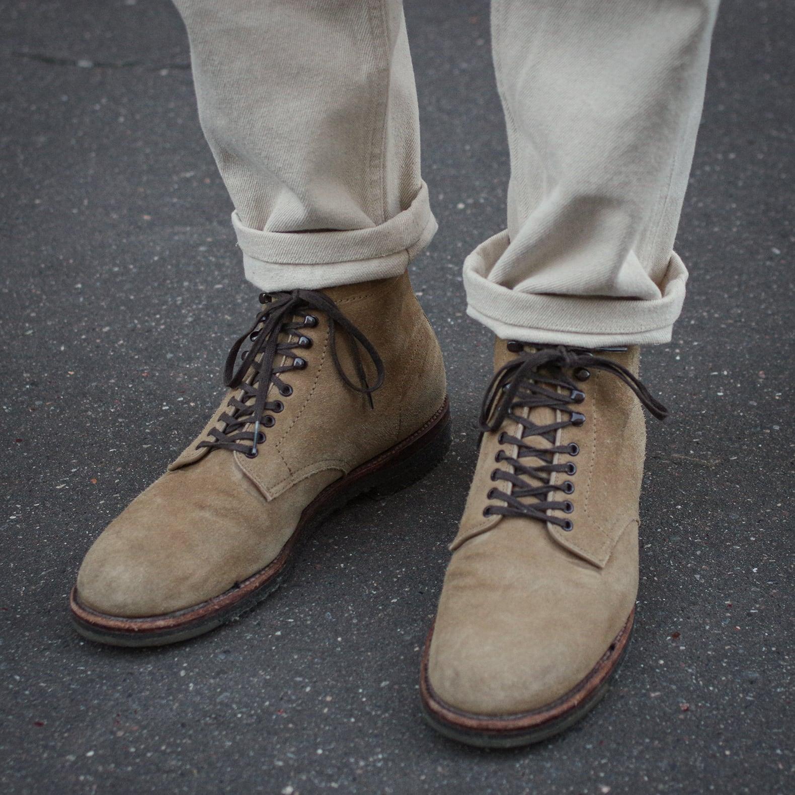 boots alden plain toe