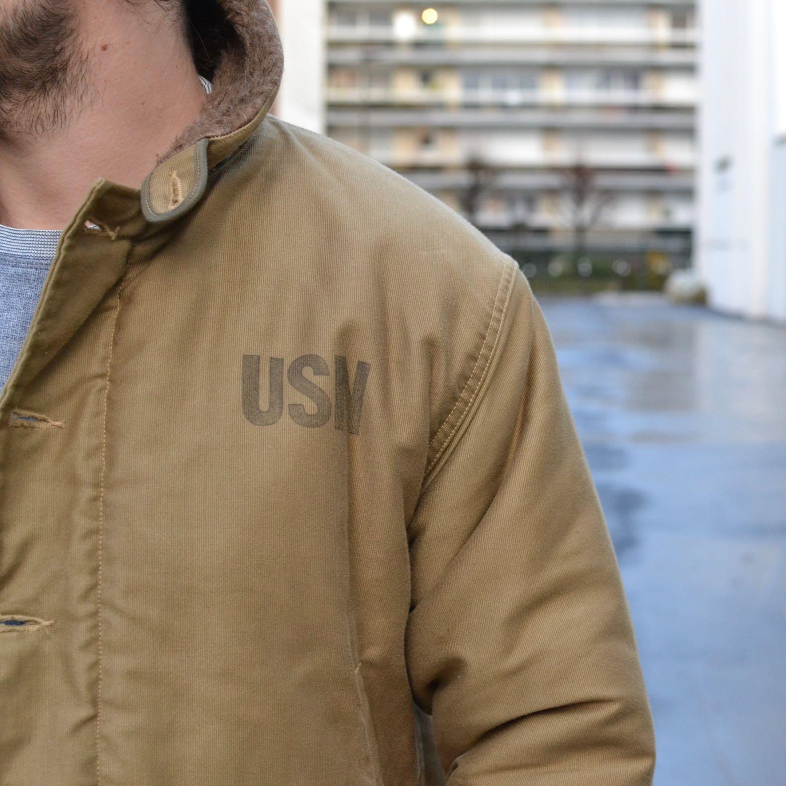 buzz rickson n1 deck jacket