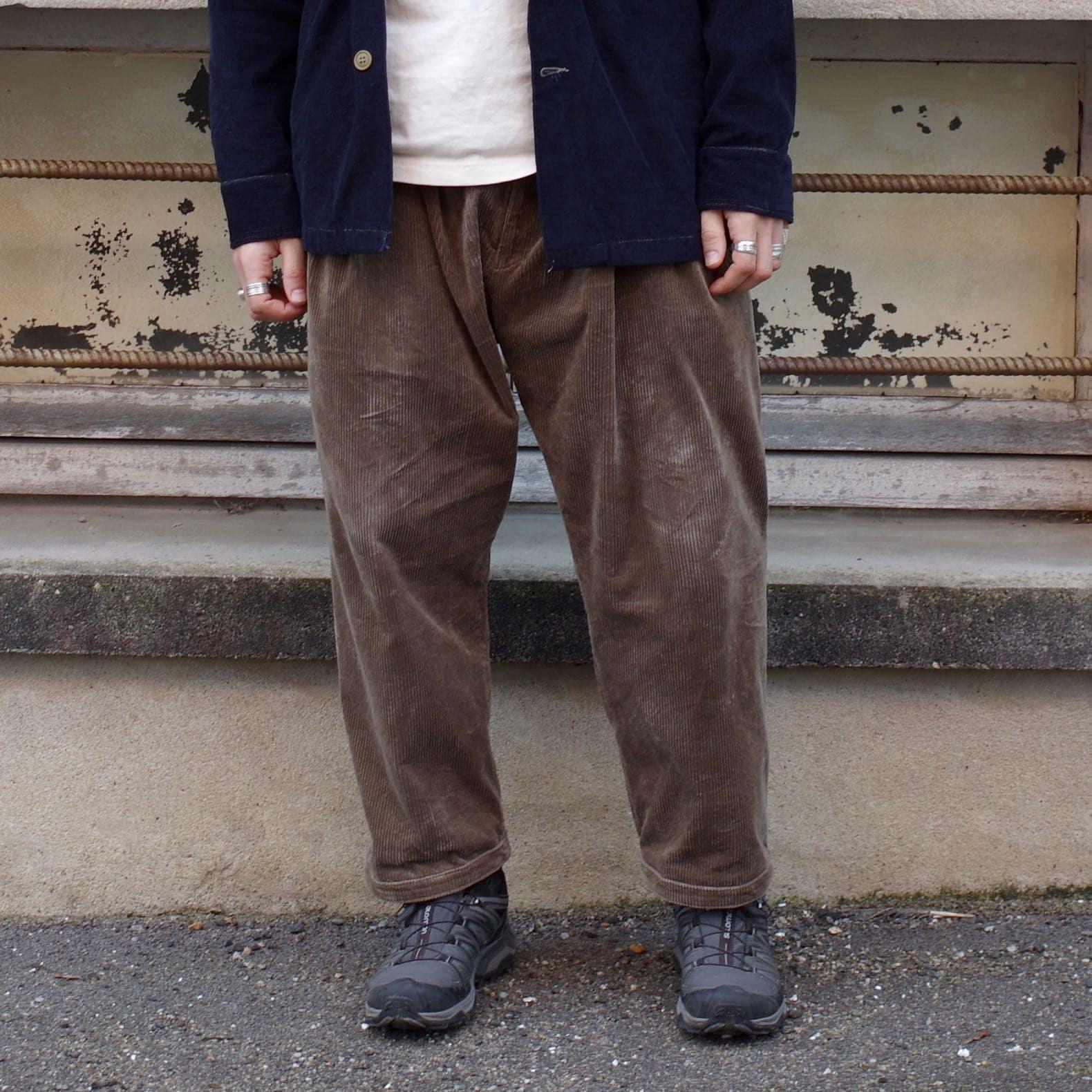 pantalon coue large sillage en velours