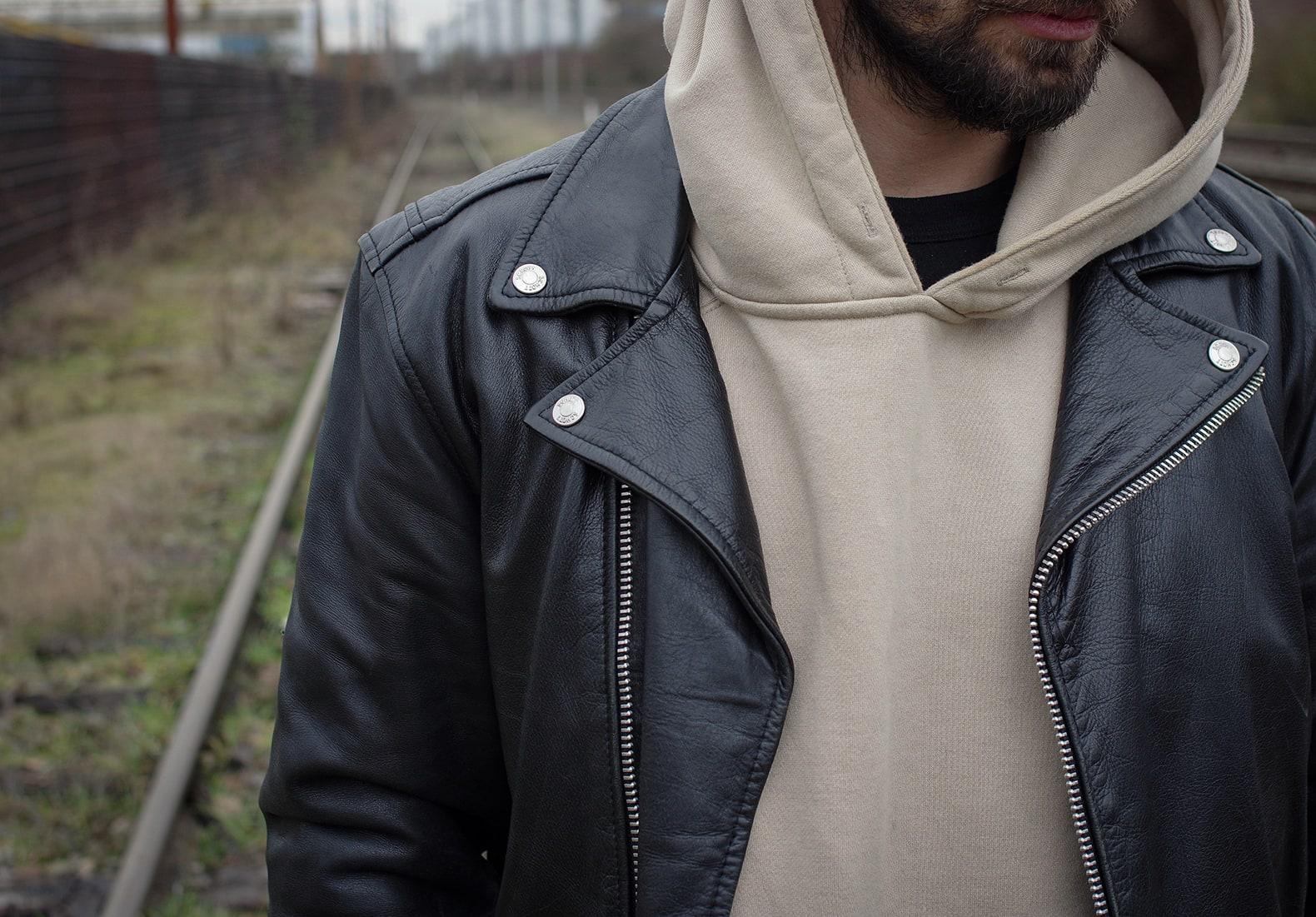 perfecto leather biker jacket schott vintage
