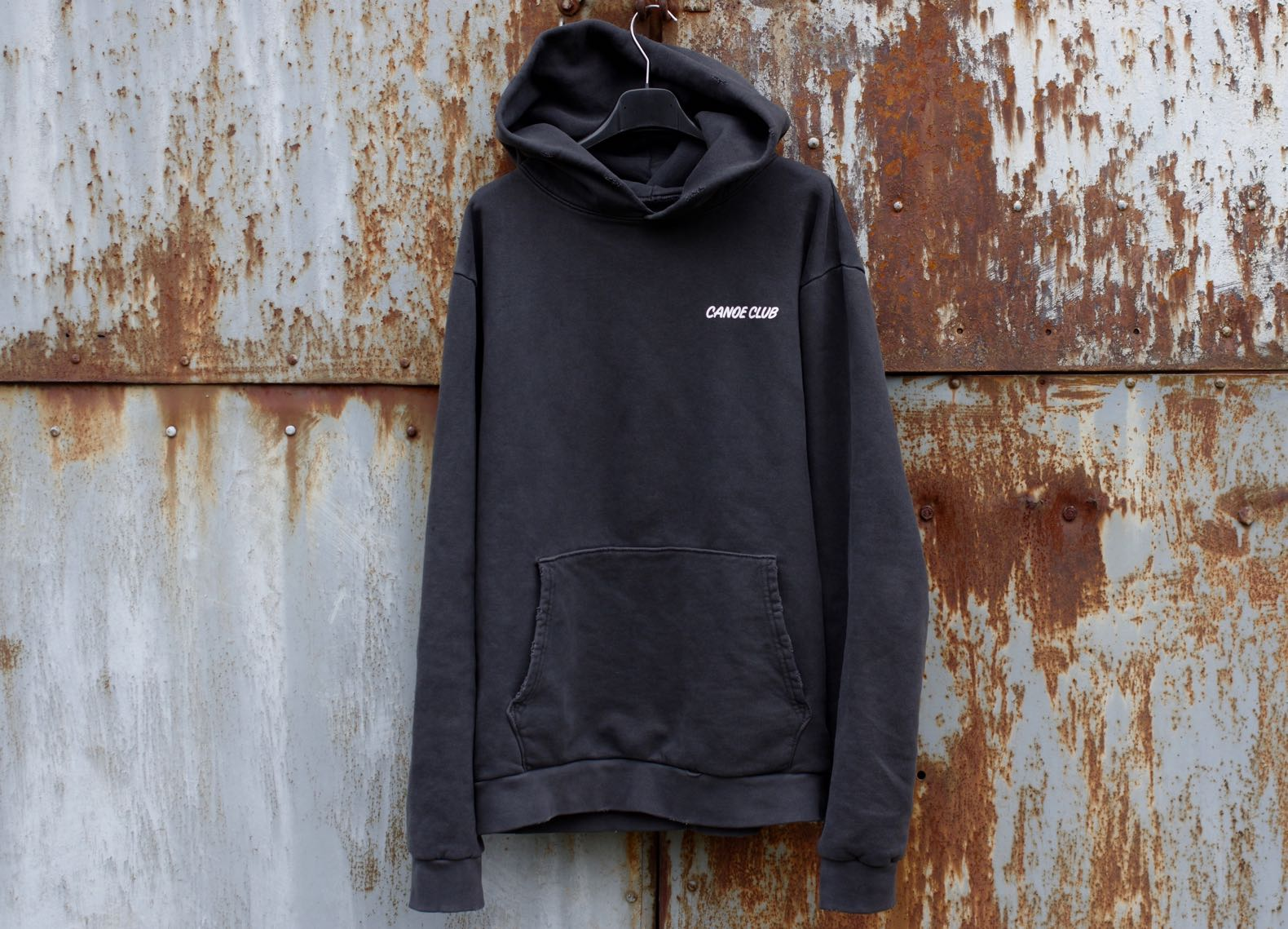 sweat à capuche homme confortable coupe vitnage canoe club hoodie