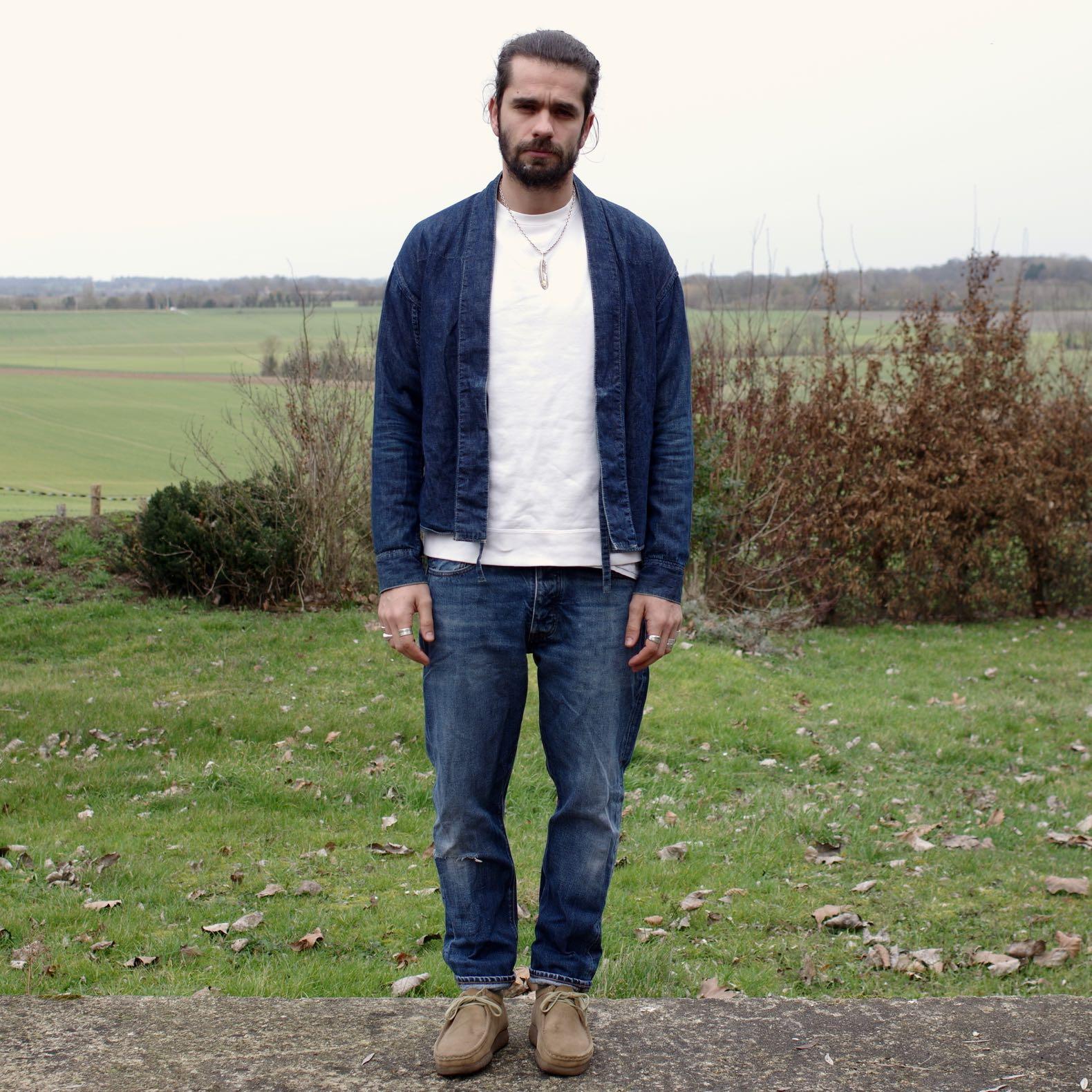 tenue homme workwear street heritage style