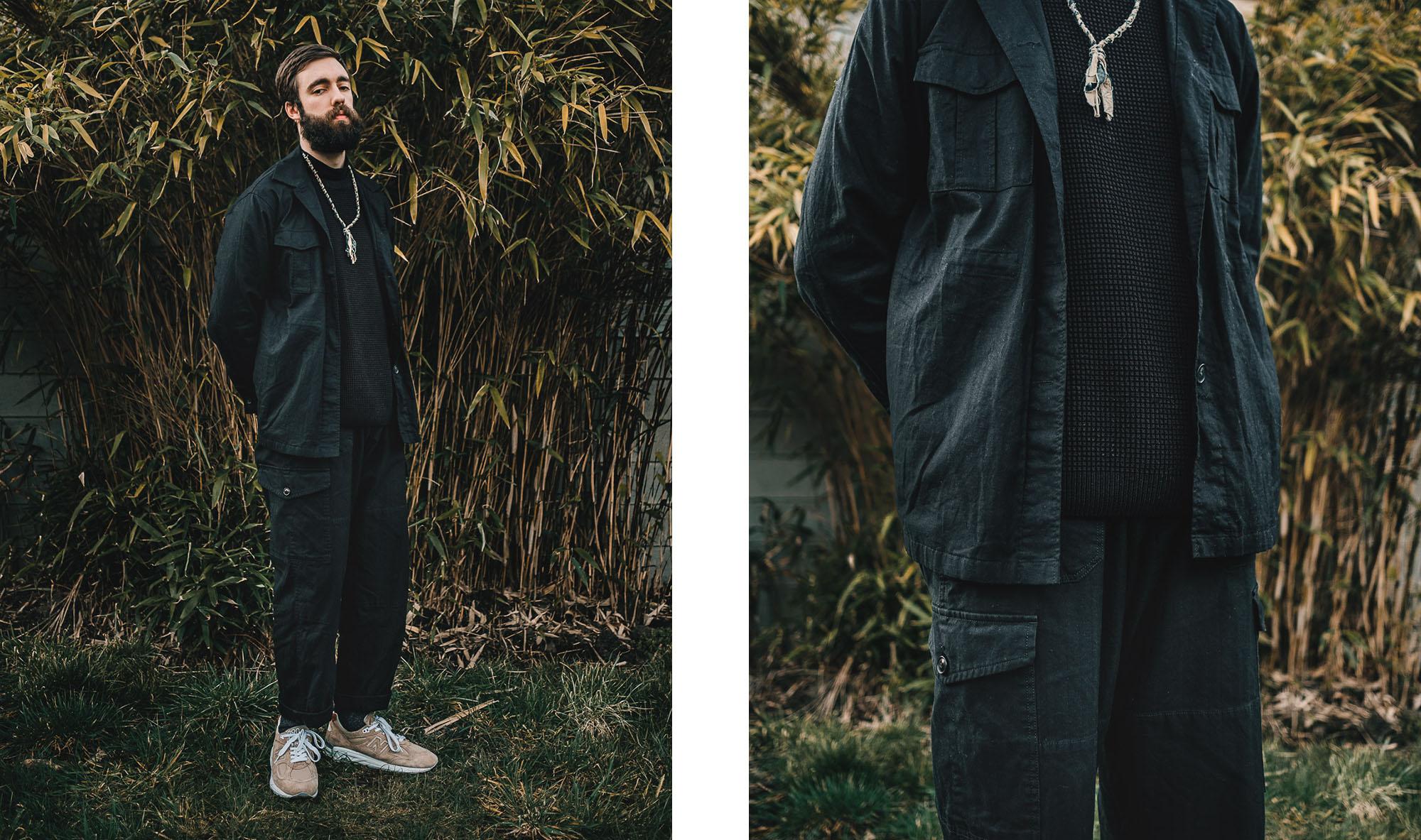 comment porter du noir dans une tenue homme