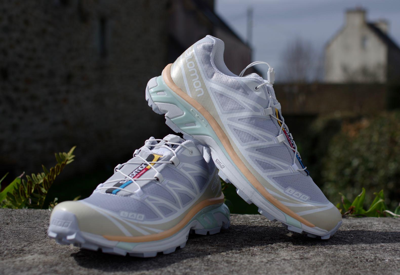 sneakers salomon advanced blanche en goretex xt-6