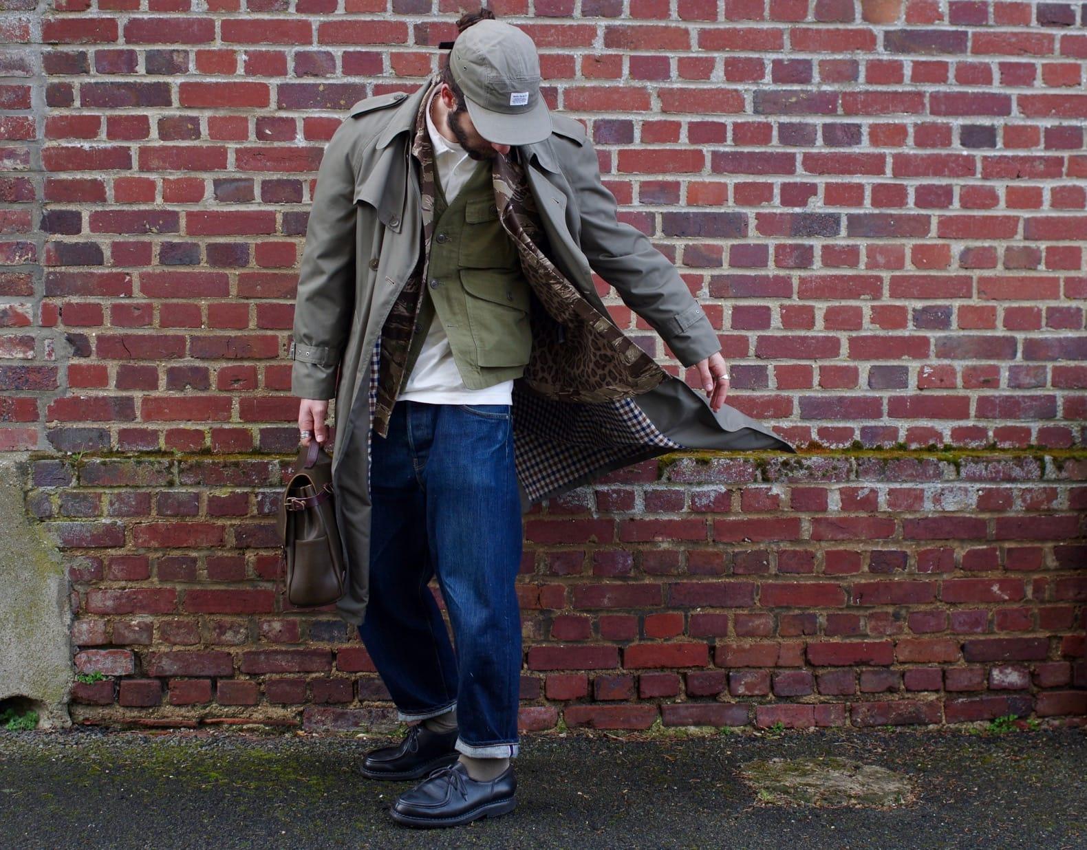 conseil de style pour homme comment prter le trench long