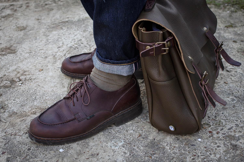 comment porter des paraboot chambord dans un style masculin workwear