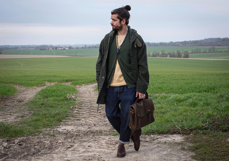 idée de tenue à porter en hiver dans un style street heritage workwear homme