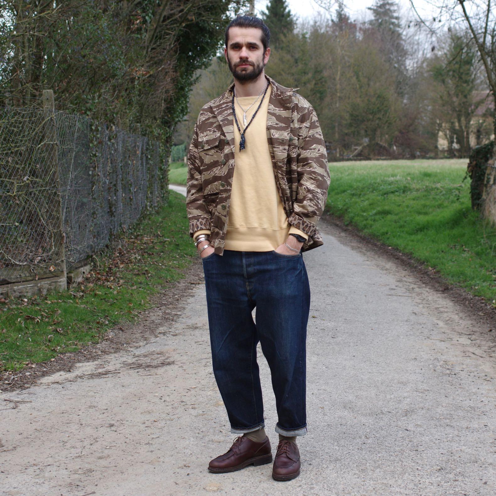 photo de Boris Cornilleau aka Boras, fondateur du blog de mode masculine Borasification et de la marque Borali. Styliste inépendant, notamment pour Arashi Denim