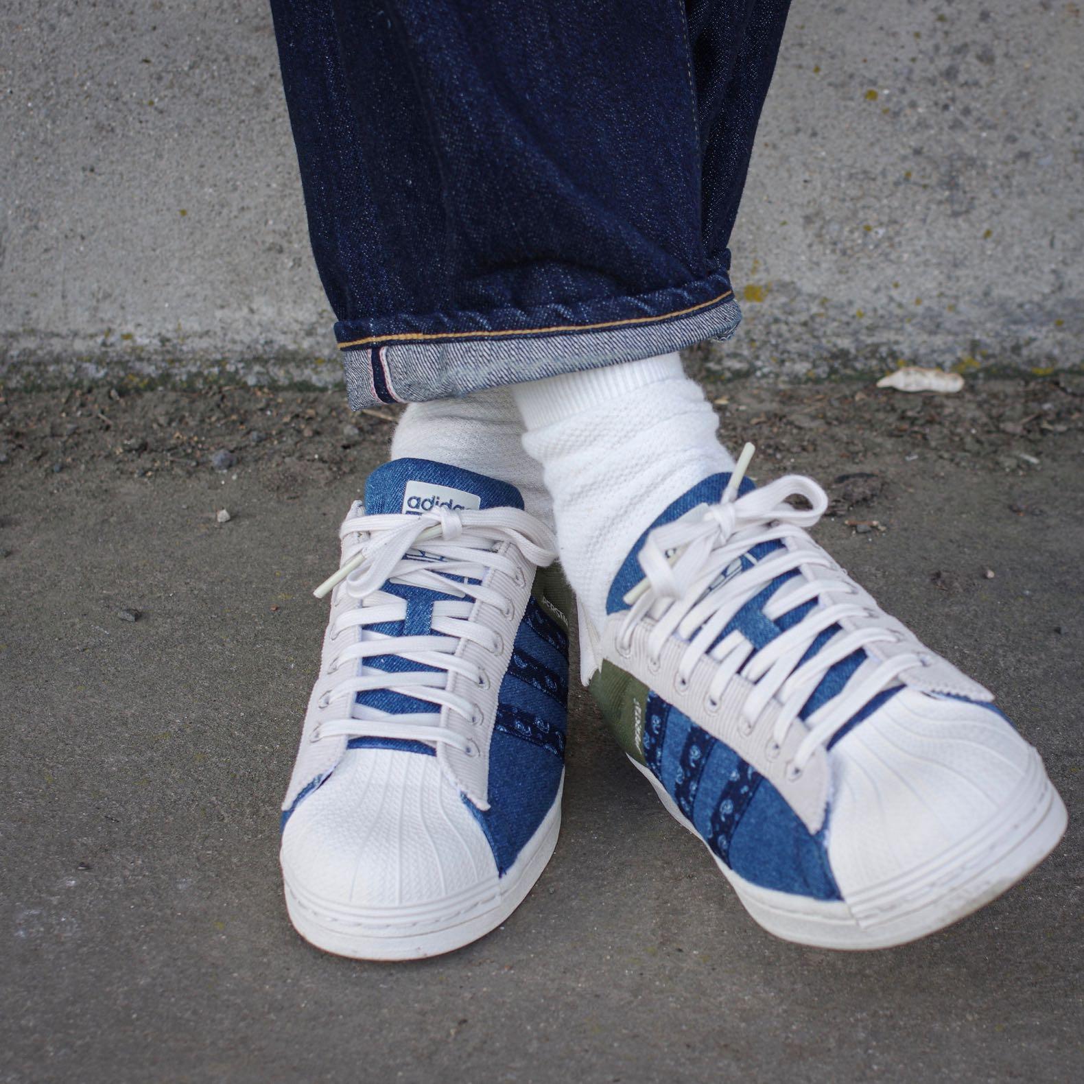 adidas super star jean brut homme