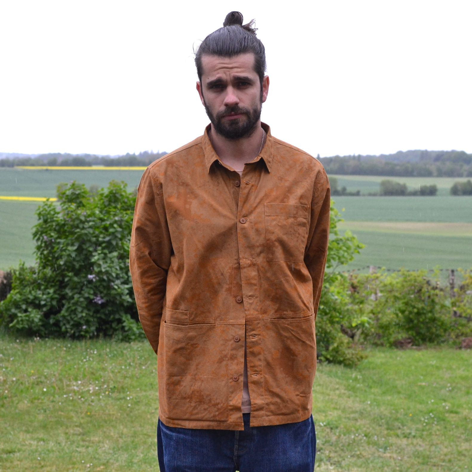surchemise Kestin modèle Rosyth shirt jacket