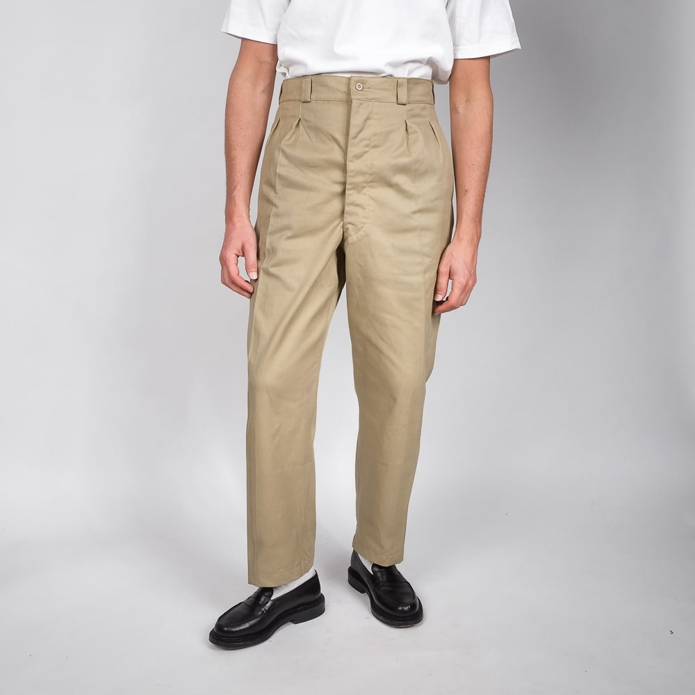 chino taille haute vintage