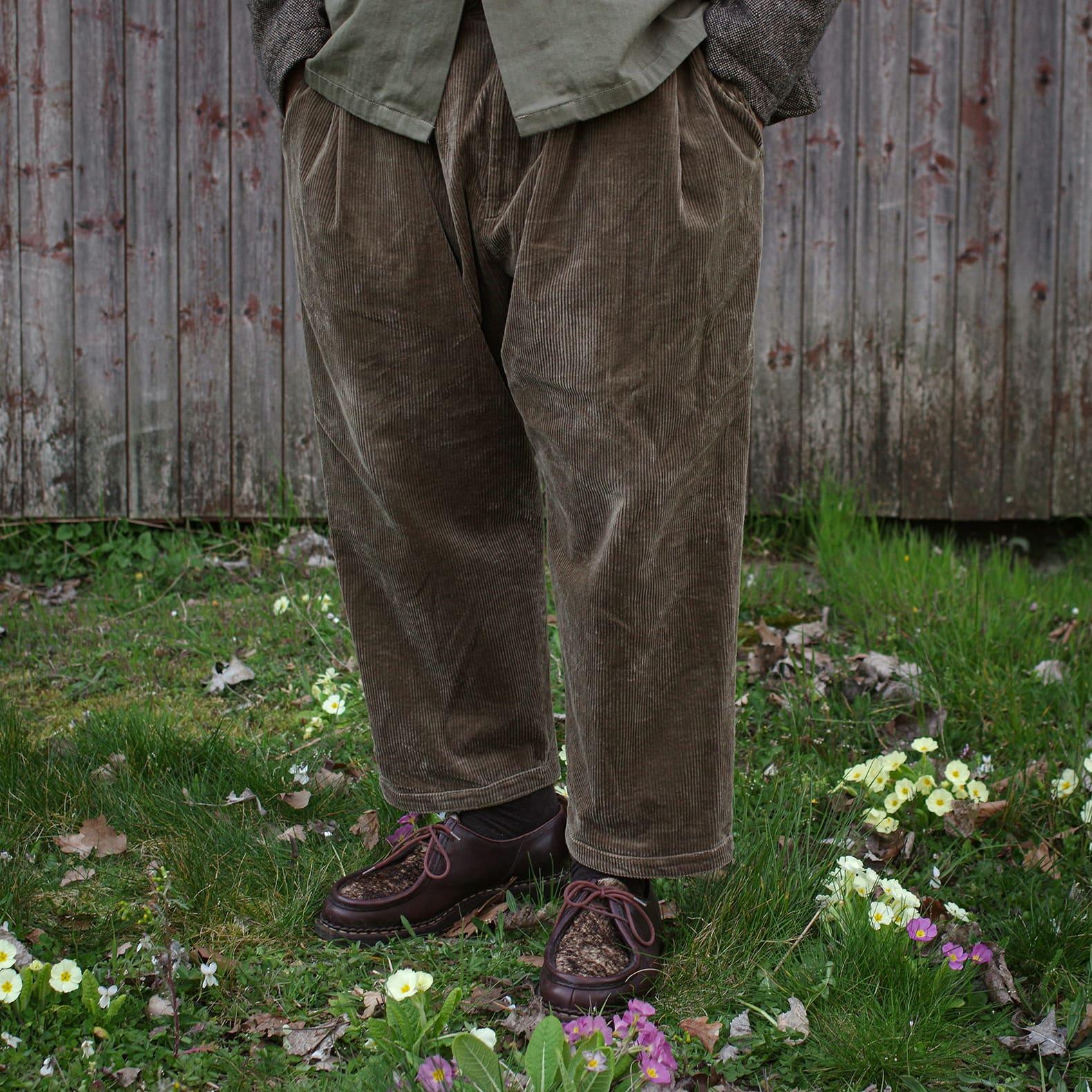 pantalon large en velours de la marque japonaise Sillage