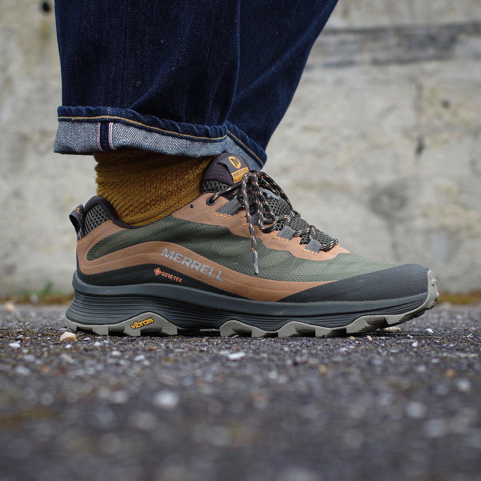 chaussure de trail style outdoor porté à la rue