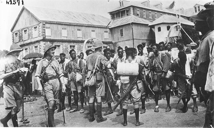 photo colons anglais afrique
