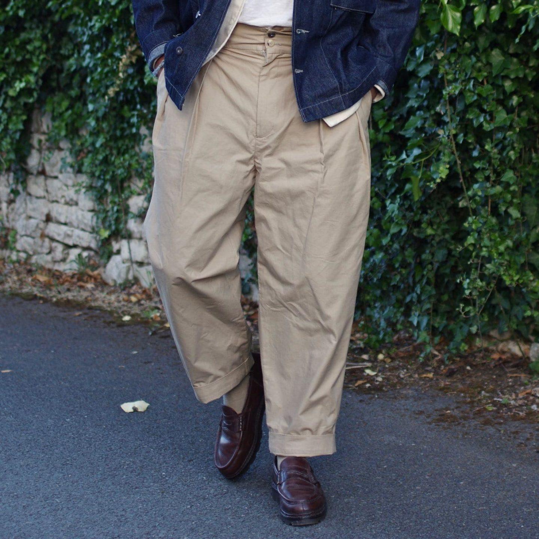 de bonne facture high waisted trouser